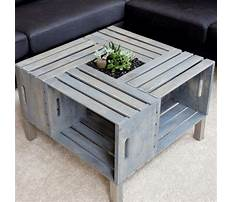 Best Arts crafts coffee table easy and simple to build