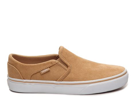 Asher Perforated Slip-on Sneaker Vans