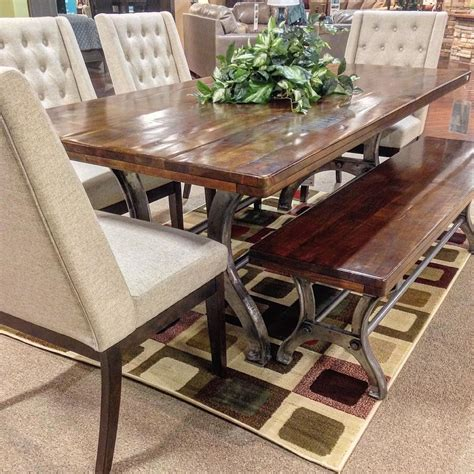 Ashley-Furniture-Farmhouse-Kitchen-Table
