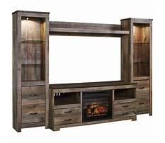 Best Ashley furniture cream entertainment center