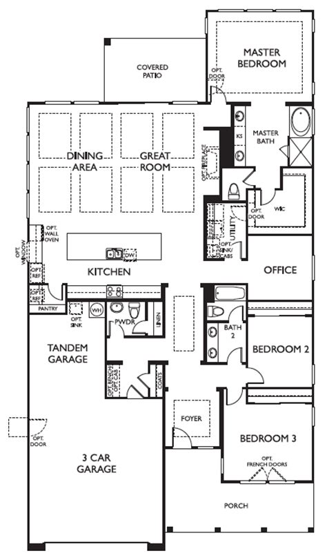 Ashton Woods Laurel Floor Plan