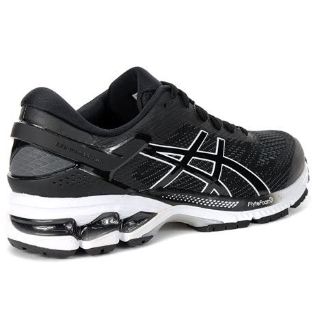 Asics Black And White Sneakers