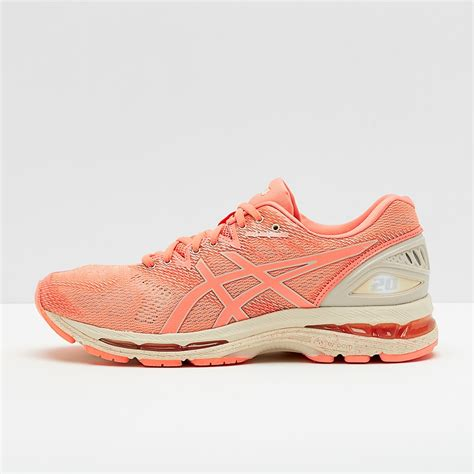 Asics Running Gel Nimbus Sneakers In Cherry Blossom