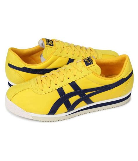 Asics Yellow Sneakers