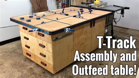 Assembly Table Plans Woodworking With T Track