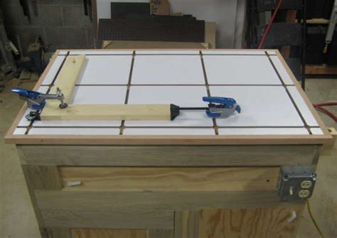 Assembly Table Plans Woodworking With T Track Aluminum Channel