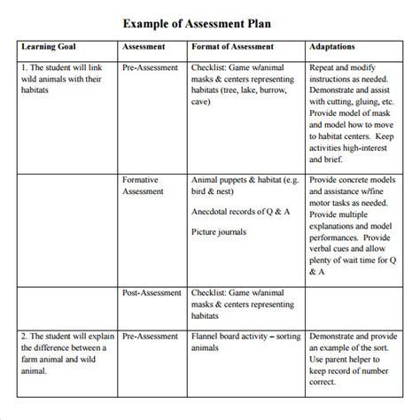 Assessment-Plan-Table