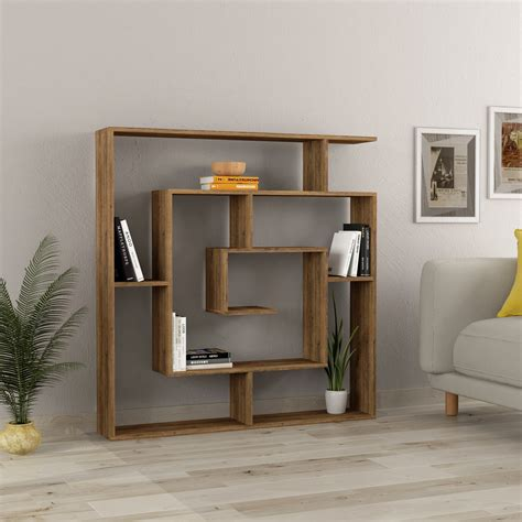 Asymmetrical-Bookcase-Plans