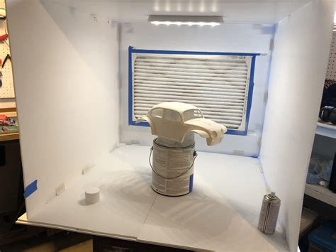 At Home Diy Spray Paint Booth