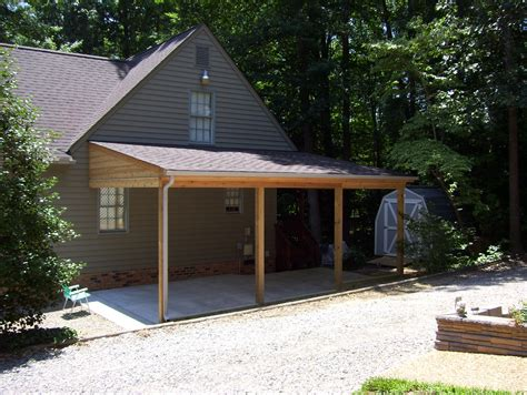 Attached Lean To Garage Plans