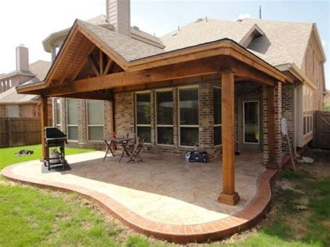 Attached Patio Roof Plans