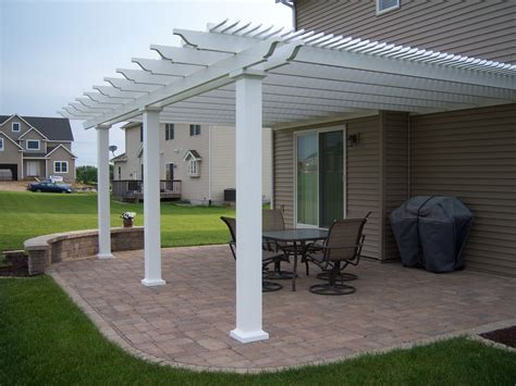Attached Pergola Diy