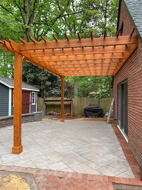 Attached Pergola Ideas