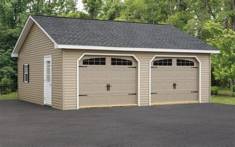 Attached Two Car Garage Plans