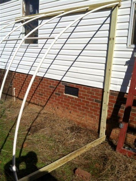 Attached-Lean-To-Pvc-Hoop-Greenhouse-Plans