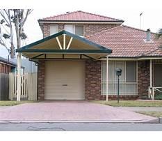 Best Attached carport design plans
