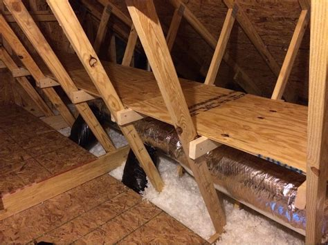 Attic Storage Diy