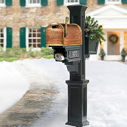 Attractive-Mailbox-Stand-Plans