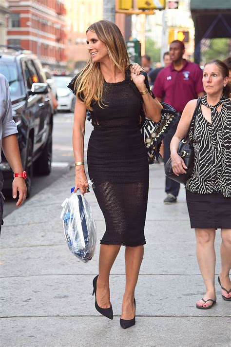 Augutst Heidi Klum New York