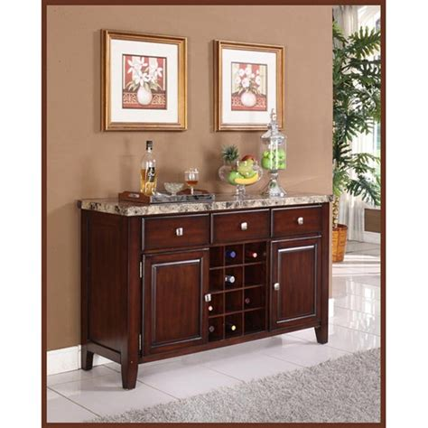 Austin Faux Marble Wood Wine Console Table Plans