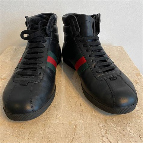 Authentic Gucci High Top Sneakers