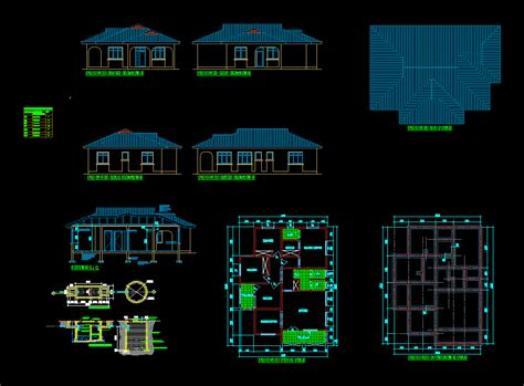 Autocad Free House Plans