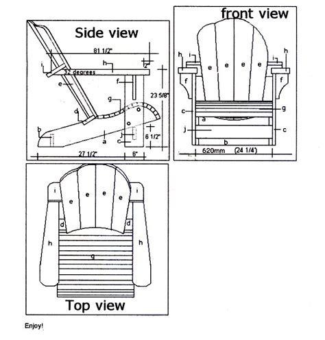 Autocad-File-Adirondack-Chair