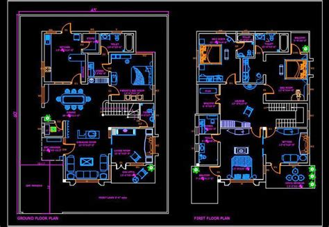 Autocad-House-Plans-Free-Download