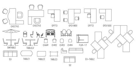 Autocad-Office-Furniture-Blocks-Plan-View