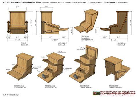 Automatic-Wood-Chicken-Feeder-Plans