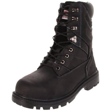 Avenger 7310 10' Leather Safety Toe EH Internal Met Guard High Heat Outsole Work Boot