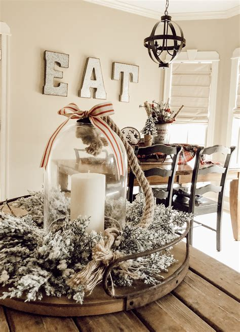 Awesome Diy Kitchen Table Centerpiece