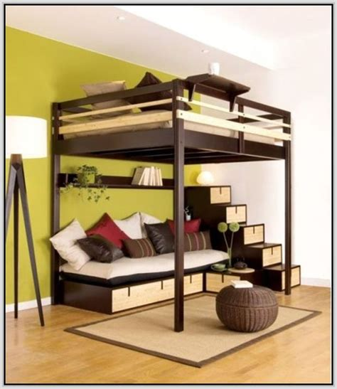 Awesome Queen Loft Bed Plans