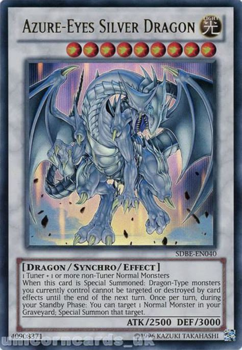 Azure Eyes Silver Dragon Deck Build