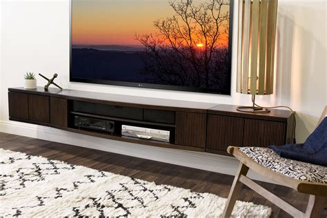 B򴴣her Wall Mounted Floating Tv Stand