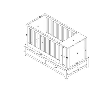 Baby Bed Furniture Plans