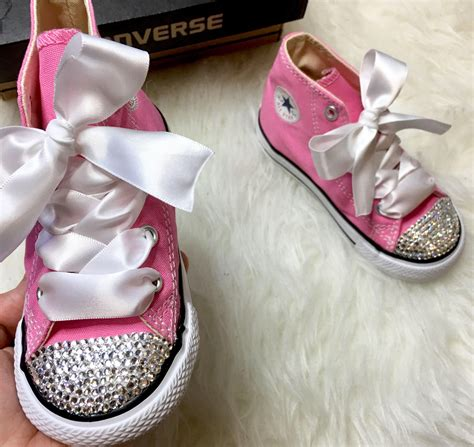 Baby Bling Converse Sneakers