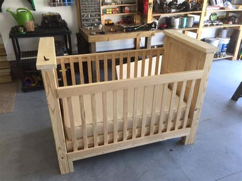 Baby Cot Building Plans