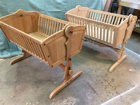 Baby Cradle Plans And Kits Made Of Cherry