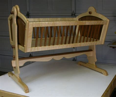 Baby Cradle Plans Heirloom Quality
