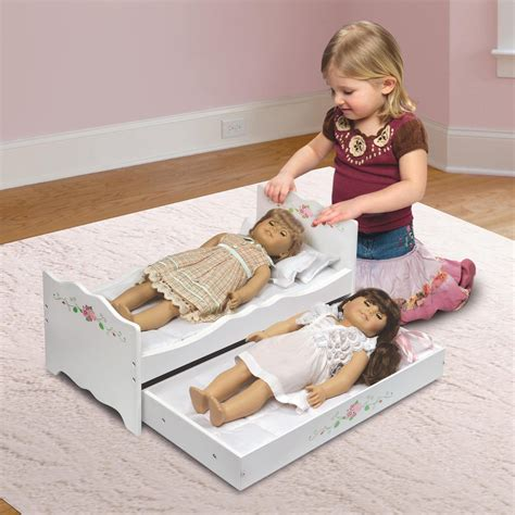 Baby Doll Bunk Bed With Trundle