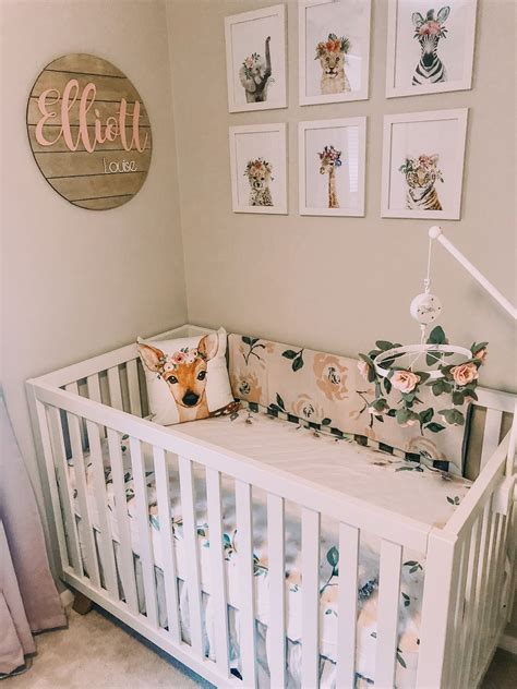Baby Girl Nursery Diy Decorating Ideas