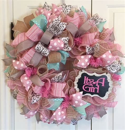 Baby Girl Wreaths Diy Projects