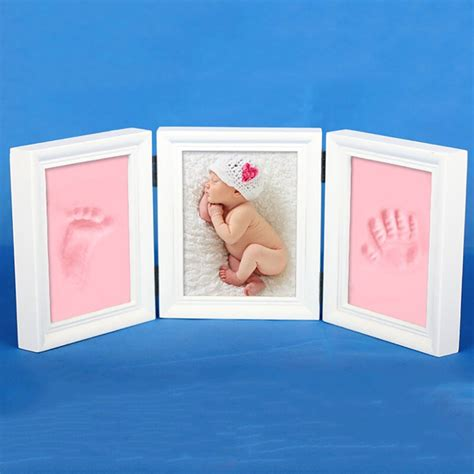 Baby Handprint Picture Frame Diy