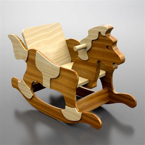 Baby Rocking Horse Plans