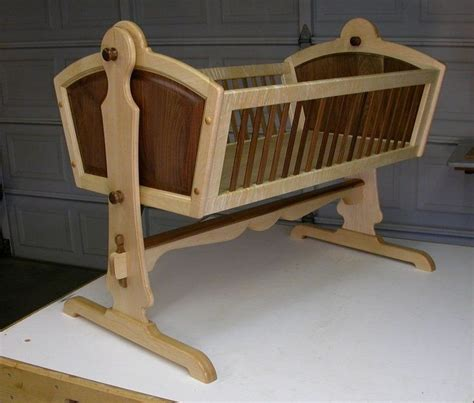 Baby cradle design plans Image