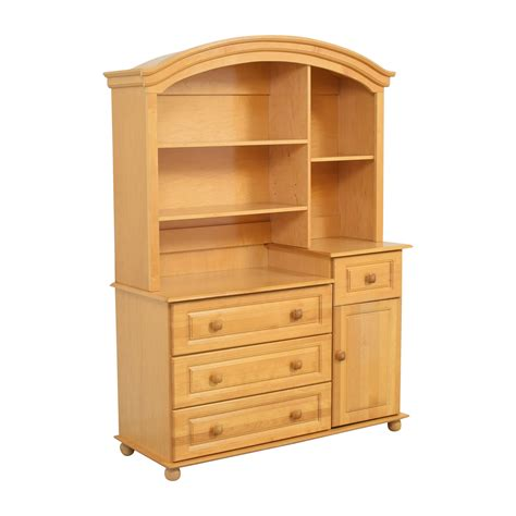 Baby-Dresser-With-Hutch