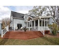 Best Back porch construction plans