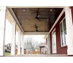Best Back porch wood ceilings