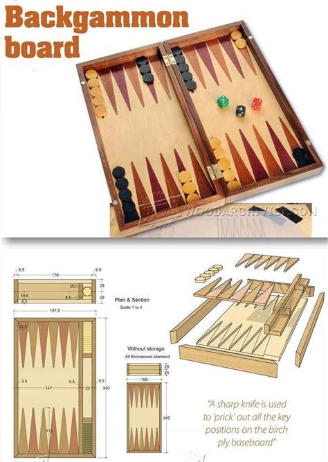 Backgammon-Wood-Working-Plans